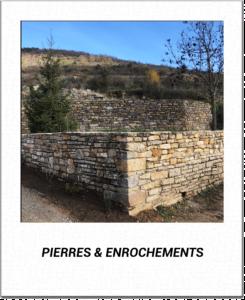 pierres et enrochements